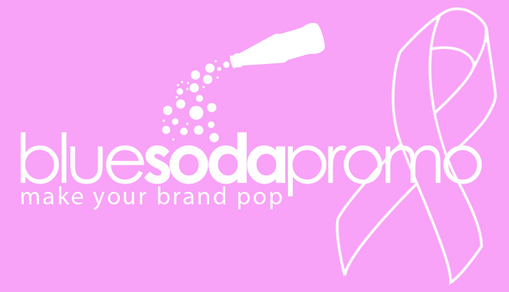 Blue Soda Promo is Donating a Portion of Sales to Breast Cancer Research