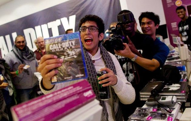 excited gamer