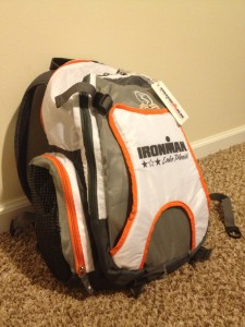 Ironman gear bag from Lake Placid