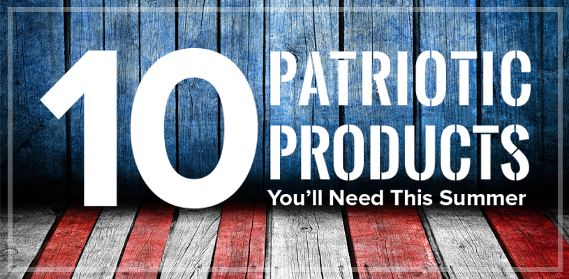 10 Patriotic Summer Promotional Products