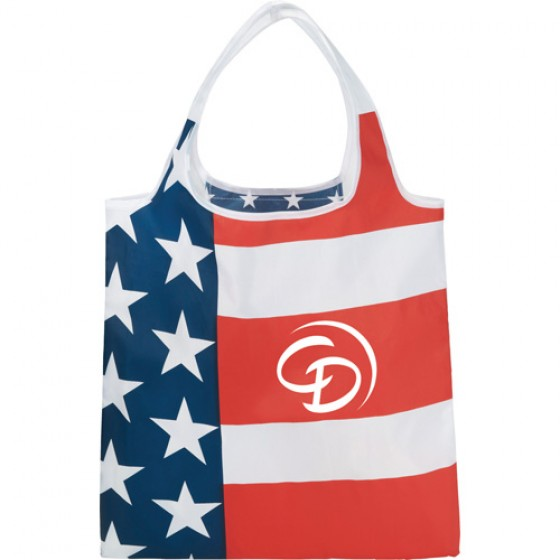 Personalized USA Tote Bag