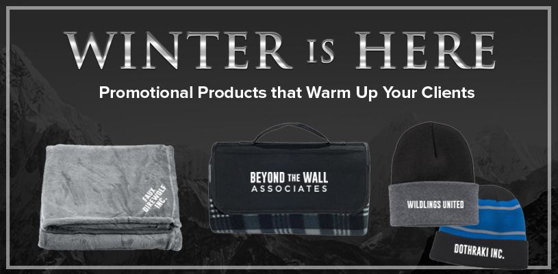 Winter is Here: Promotional Products To Warm Up Your Clients