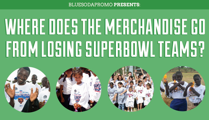 Where Does The Merchandise Go From Losing Super Bowl Teams? [INFOGRAPHIC]