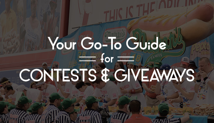 your go to guide for contest giveaways blue soda promo blog